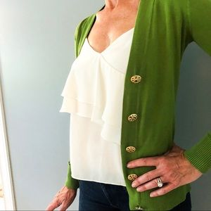 Tory Burch Green sweater